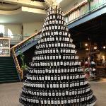 a wine lovers Christmas tree!