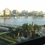Nile view from our room