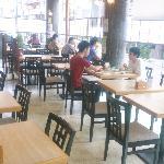 朝食レストラン 風景