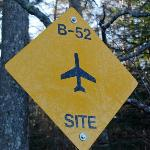 B-52 Crash Site Sign