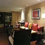 Living area in 2bedroom suite