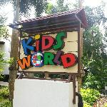 Kids World near the pool
