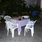 Alternative outside dining area