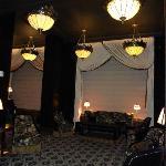 Lounge na entrada