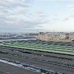 Vista de los andenes de la Gare de l'Est