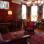 La salon du Chateau Tivoli