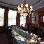 La salle à manger du Chateau Tivoli