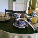 El desayuno se sirve en el horario que necesita el huesped