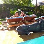 relax in piscina ..