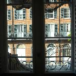 Hotel Mazarin - View through the French Doors