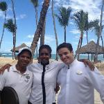 Worlds greatest service! Kelvin, Benita, Eduardo - Royal Service