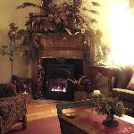 Our Parlor...a cosy spot waiting for you this winter