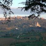 La vista dalla Loggia.