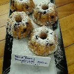 blueberry mini bundts