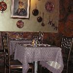 Interior view of a restaurant #1