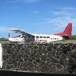 Plane at Hana Airport