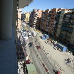 vue sur l'avenue Ronda