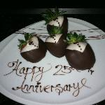 Our anniversary surprise