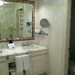 Right side of bathroom