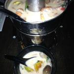 Tom Kha Gung Mai Soup (with shrimp)