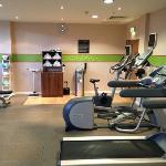 Gym inside the Hotel