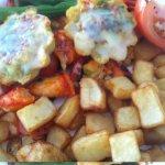 Lobster Fritata - wonderful room service!