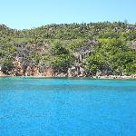 Curieuse Island e le sue acque cristalline