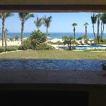 view of our jacuzzi on the patio