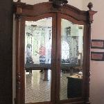 Armoir in the foyer
