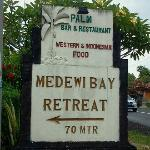 allure of the medewi bay retreat,nice surroundings,calm and cool place