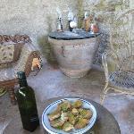 Pieve di Caminino's fresh olive oil