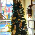 """""""Shoe Tree"""" in the dining area/office"""