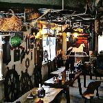 Dining area/office