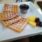 waffles don't think they are frozen