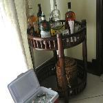 Open Bar in room