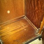Dust in the cupboard