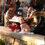 Couple wth dog at Janaica Bay Inn