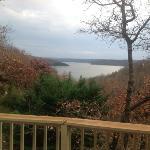 view from front door off of deck