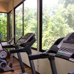 Our Gym with views to the Manuel Antonio National Park