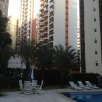 foto del área de la piscina