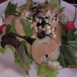 House salad w/Gorgonzola dressing