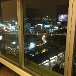 Вид из номера на 26 этаже