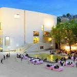 Leopold Museum bei Nacht