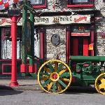 The Spinning Wheel. A very good place to eat