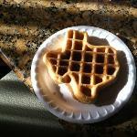fun waffles for breakfast