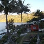 le jardin au bord du lac