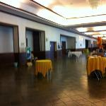 The lobby outside the ballrooms