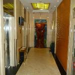 l'accès aux ascenseurs