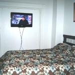 Room 2 has double bed and  is located on main floor and has private bathroom