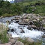 Mlambonja river (running below hotel)